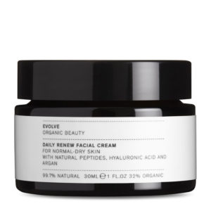 Evolve Organic Beauty Daily Renew Facial Cream 30 ml TRAVEL