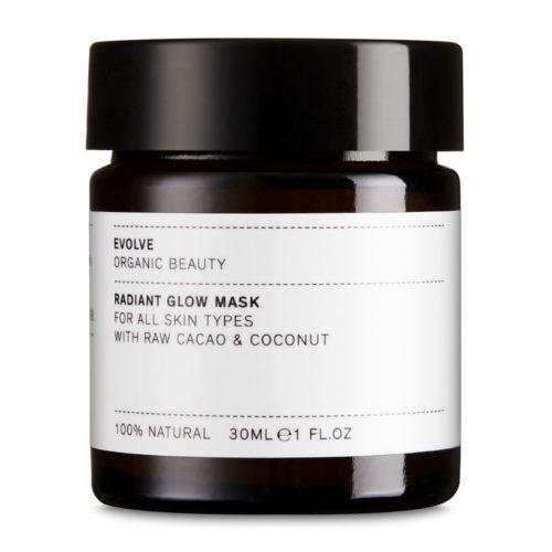 Evolve Organic Beauty Radiant Glow Mask 30 ml TRAVEL