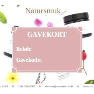 Natursmuk Gavekort